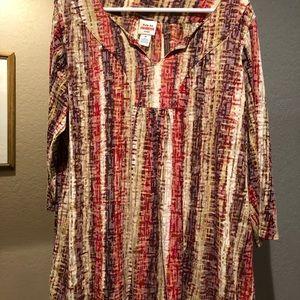 Ruby Rd 1X  blouse